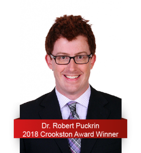 2018 Crookston Award Winner - Robert Puckrin